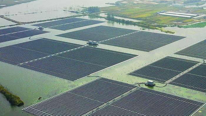 淮北水面漂浮式光伏电站项目